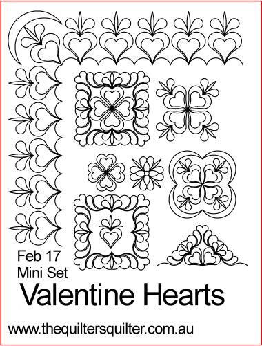 Valentine Hearts Mini Set