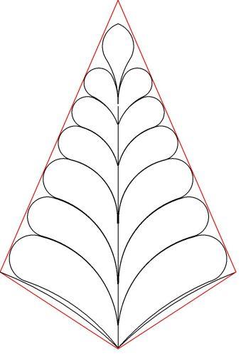 Vernas p2p feather cone