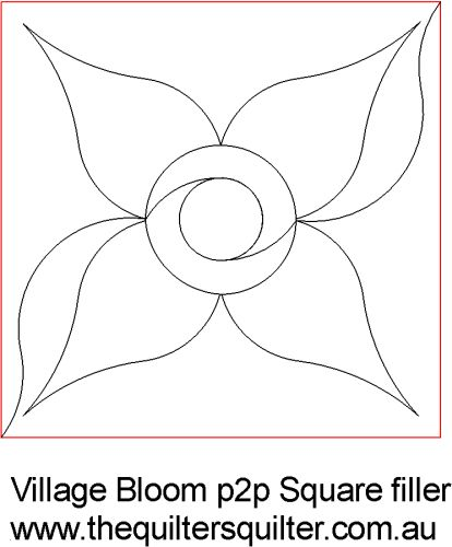 Village Bloom p2p square filler