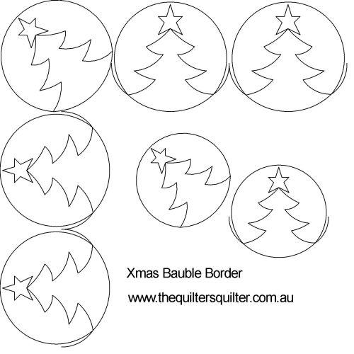 Xmas Bauble Border