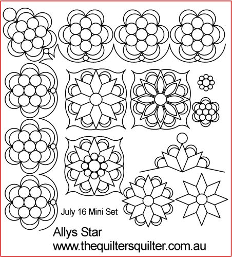 Allys Star Mini Set