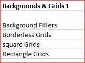 Background and Grids Bulk