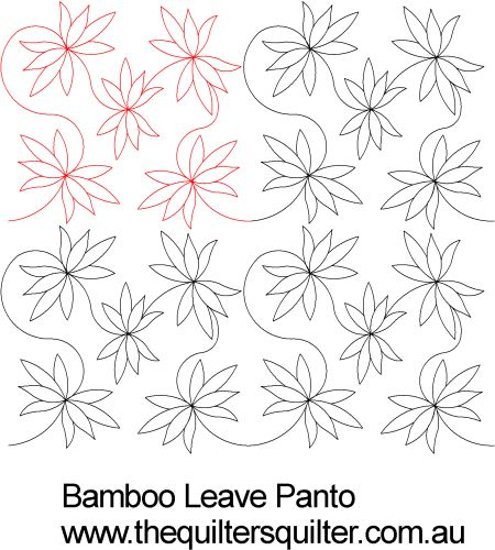 Bamboo Leaves panto