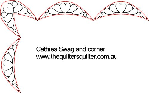 Cathies swag and corner