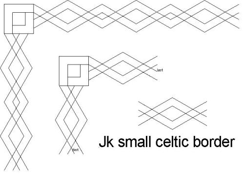 Celtic Small Border