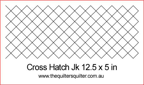 Cross Hatch jk 12.5 x 5 x 1