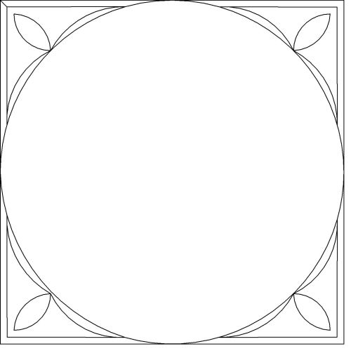 Folk Simple Frame