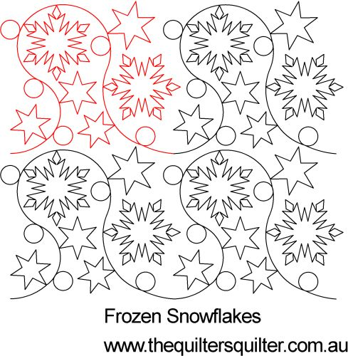 The Quilter's Quilter :: Digital Quilting Patterns :: Pantographs ... : snowflake quilting design - Adamdwight.com