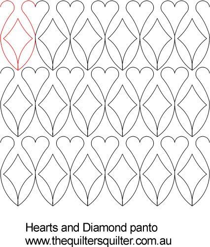 Hearts and Diamond Panto