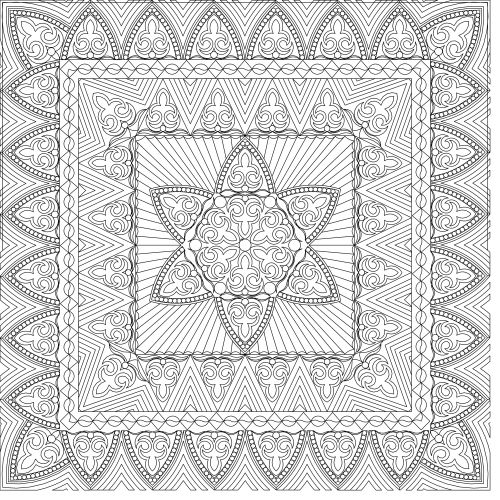Verna's Pearls Wholecloth Quilt