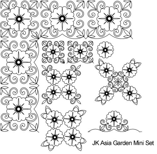 Asian Garden Mini Set