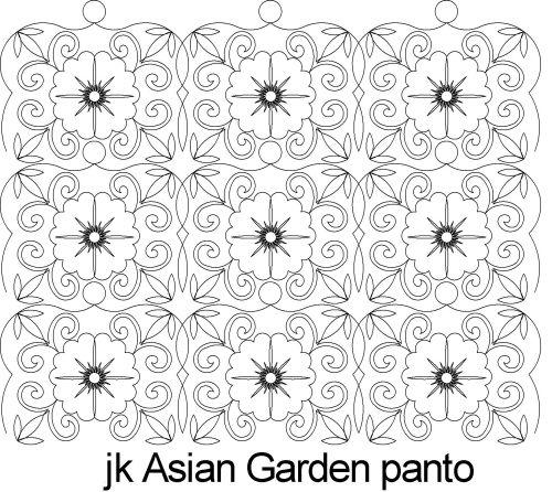 Asian Garden Panto