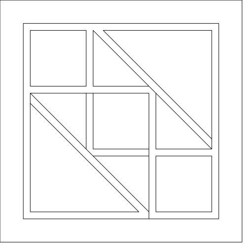 Jk Mini quilt layout