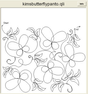 Kims Butterfly Panto
