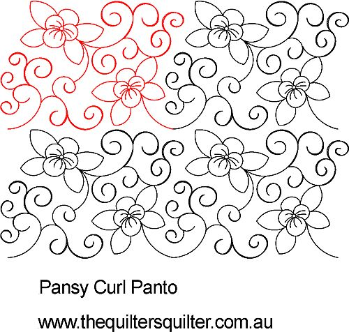 Pansy Curl Panto