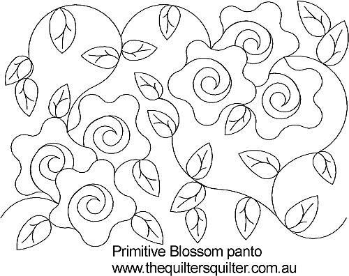 Primitive Blossom Panto