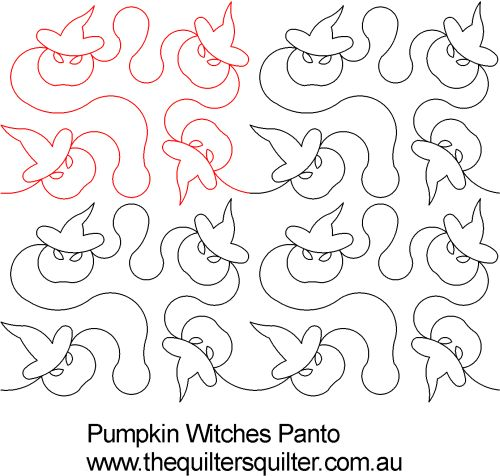 Pumpkin Witches Panto