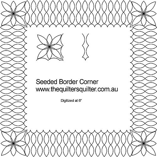 Seeded border Corner
