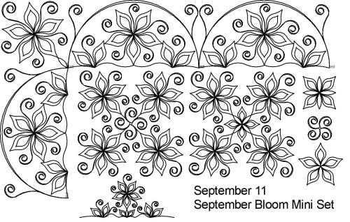 September bloom mini set