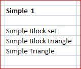 Simple Set 1