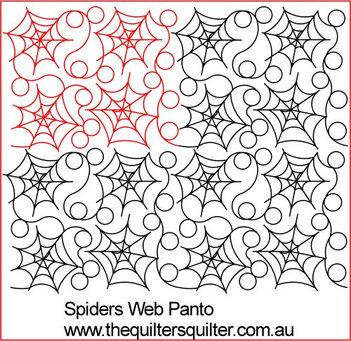 Spiders web panto