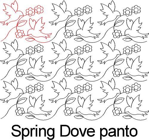 Spring Dove panto
