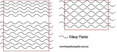 Wavy Line Panto