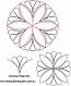 Donnas petal set
