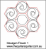 Hexagon Flower 1