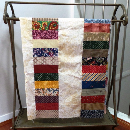 Sit and Sew Coin Quilt