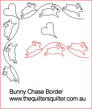 Bunny Chase Border 2 inch
