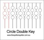 Circle Double Key