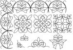 Floral Bow set