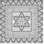 Kaye's Pearls Wholecloth Quilt
