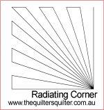 Radiating Corner key