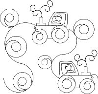 Tractor panto