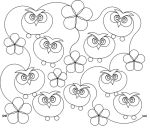 Garden Owls  Embroidery