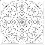 Jk folk flowerblock circular