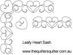 Leafy Heart Sash