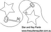 Star and Key panto