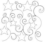 Stars and Swirls panto