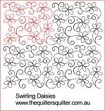 Swirling Daisies