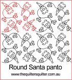 Round Santa E2E