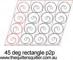 45 deg Rectangle p2p