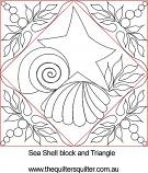 seashell block and triangle