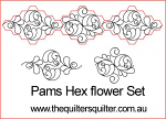 Pams Hex Flower Set
