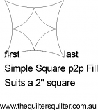 Simple square p2p fill
