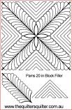 Pams 20in Block Filler