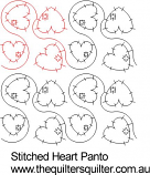 Stitched Heart panto
