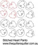 Stitched Heart panto